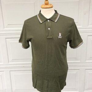 Psycho Bunny Mens Polo Shirt Size 6-M